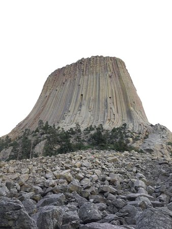 Devils Tower, WY: Up close