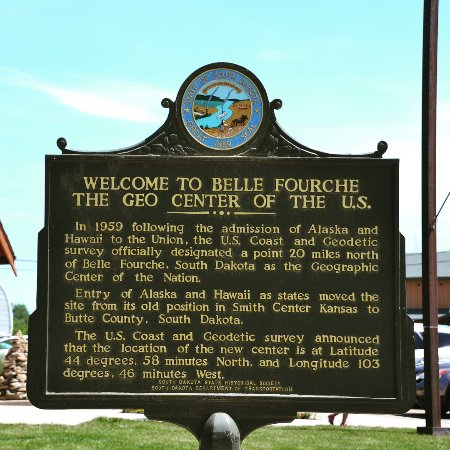 Belle Fourche, SD: Information sign