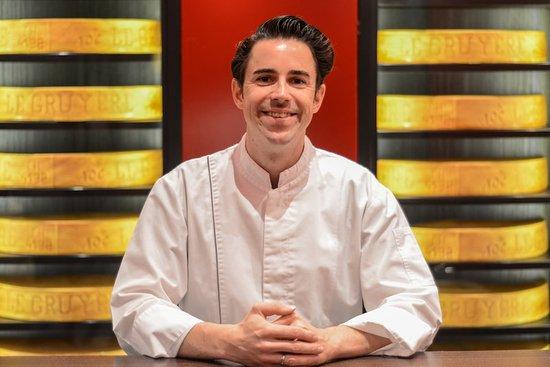 Park Gstaad: Chef Axel Ruedlin
