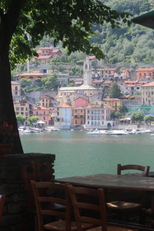 Ossuccio, Italy: A view from the restaurant