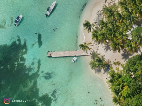Le Gosier, Guadeloupe: Ilet du Gosier. Situé en face de la plage de la Datcha