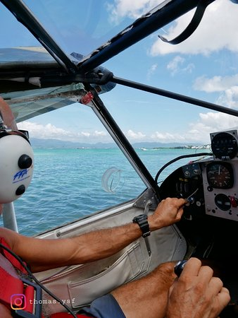 Le Gosier, Guadeloupe: Erwan, le pilote qui se chargera du vol