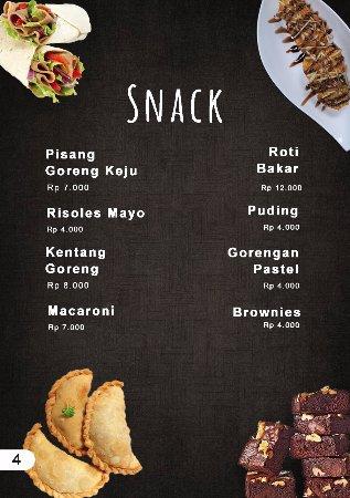 West Java, Indonesia: List Menu4