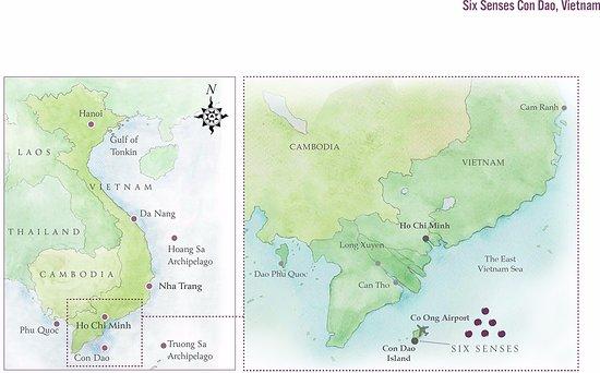 Con Son, Vietnam: Resort location