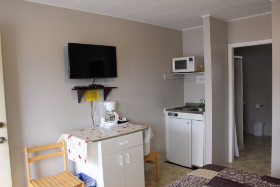 The Victorian Motel and RV Park: Kitchenette