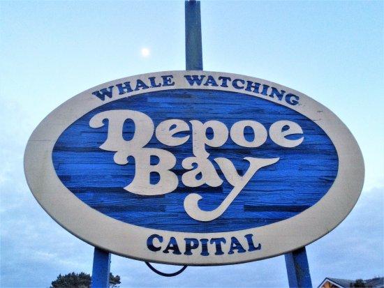 Depoe Bay, Oregón: Depot Bay, Oregon. Home of Gracie's Sea Hag restaurant.