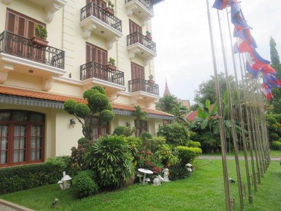 Steung Siemreap Thmey Hotel: Hotel 1 building