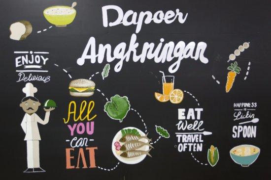 West Java, Ινδονησία: Enjoy, Eat, Delicious...