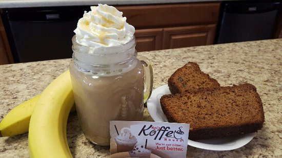 Pelham, AL: Banana Bread and a Banana Foster Latte