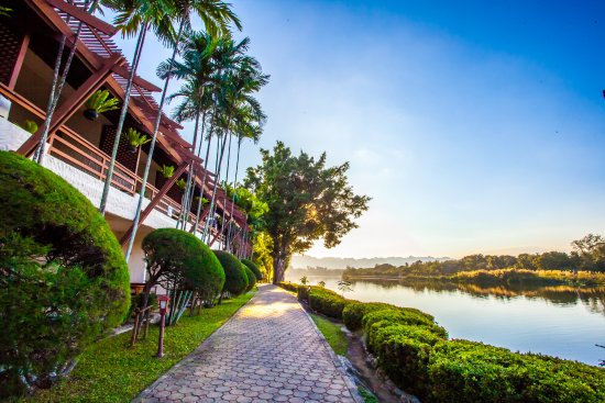 Felix River Kwai Resort - Kanchanaburi: Felix River Kwai Resort - River Kwai View