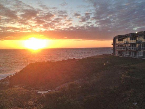 Depoe Bay, Oregón: Beautiful sunset over the Pacific at WorldMark