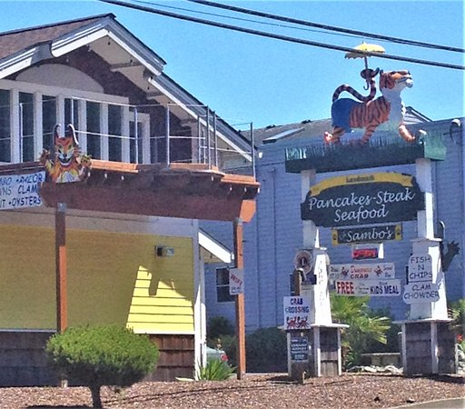 Lil Sambo's serves pancakes, steak, and seafood - Lincoln City, OR