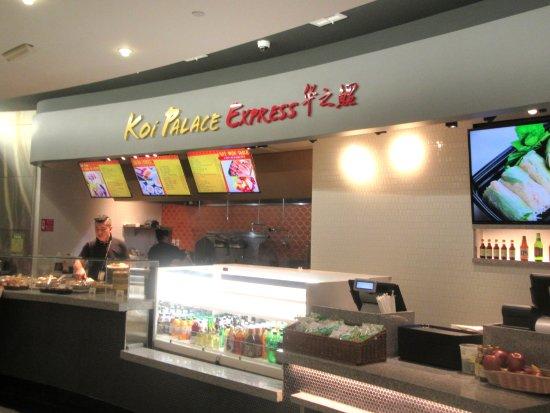 San Bruno, CA: Koi Palace Express, San Francisco Airport