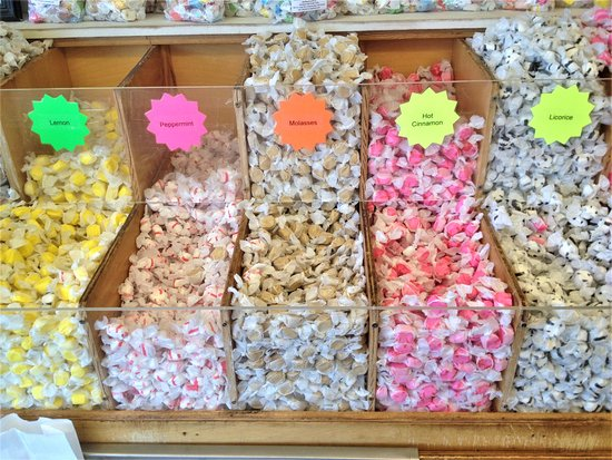 Depoe Bay, Όρεγκον: Ainslee's Salt Water Taffy - Flavors 2