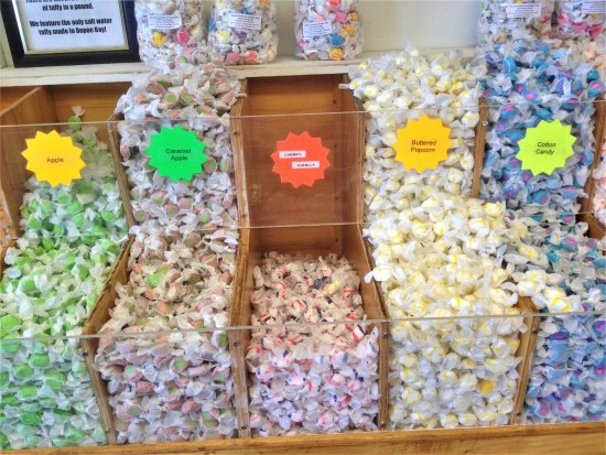 Depoe Bay, Όρεγκον: Ainslee's Salt Water Taffy - Flavors 4