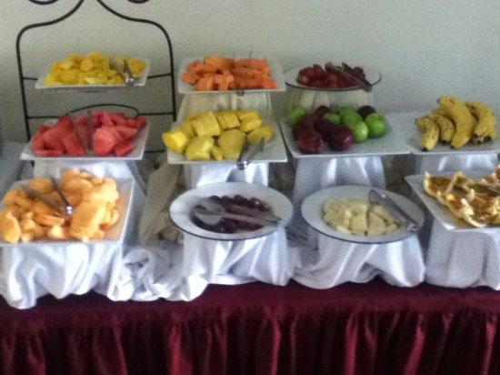 Hotel Seminole: Healthy breakfast