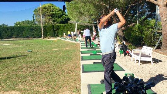 Castelnau-le-Lez, Fransa: Notre practice et ses balles de jeu