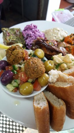 Baruch's Roastery & Restaurant: Israeli cuisine delicious food fresh