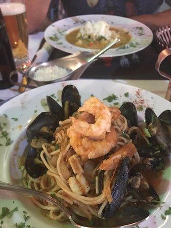 Kosmas Taverna: Spagetti seafood