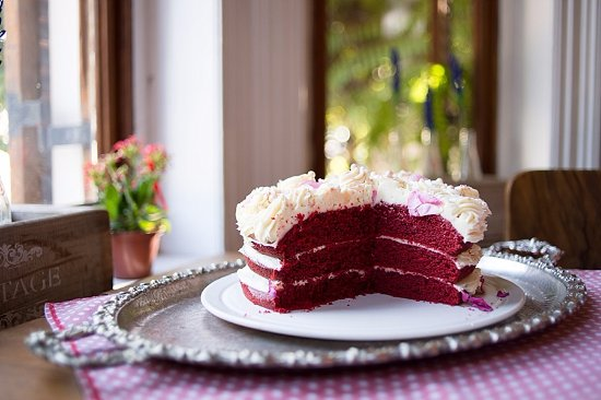 Wellington, Güney Afrika: Cake to treat the sweet tooth enthusiast