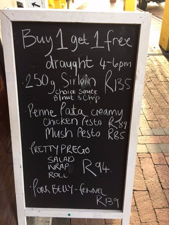 Kalk Bay, South Africa: Great Promotion
