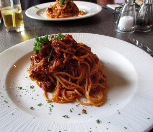 Bradford-on-Avon, UK: Spagetti Bolognese...very tasty