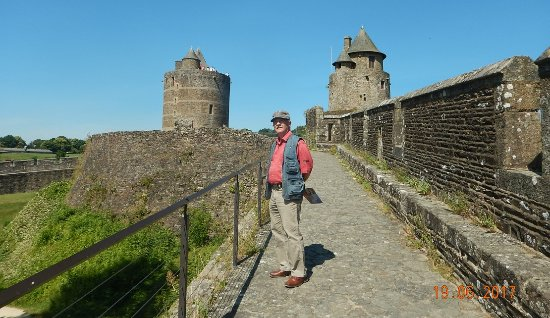 Fougeres, France: the rampants