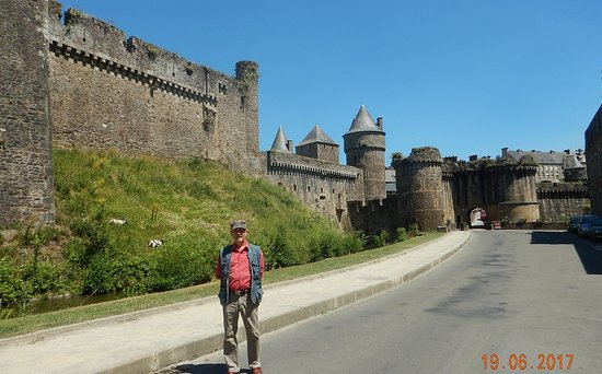 Fougeres, France: from the outside