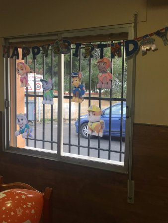 Almoradi, Spain: Cumpleaños infantiles