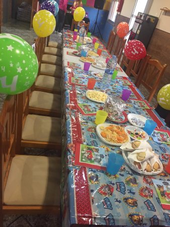 Almoradi, Espanha: Celebraciones infantiles a gusto de los cumpleañeros !!