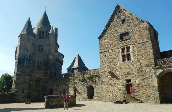 Vitre, France: inside