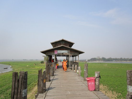 Amarapura, Birmania: U Bein Bridge