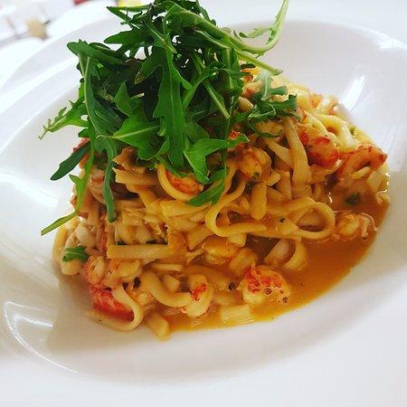 Ross-on-Wye, UK: Seafood Linguine