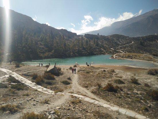 Dhumba Lake at Jomsom