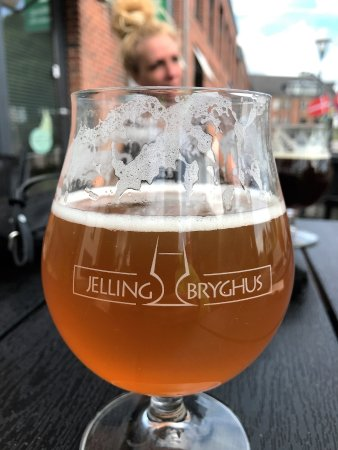 Jelling, Дания: Øl med brændenælde og Anis