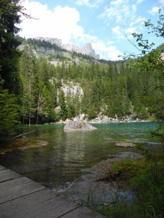Passy, France: lac vert