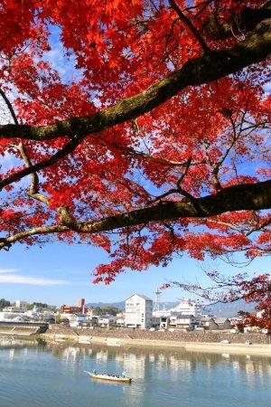 Hitoyoshi, Japão: 錦秋の川下り2
