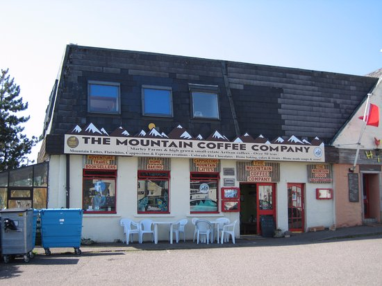 Gairloch, UK: COFFEE SHOP EXTERIOR