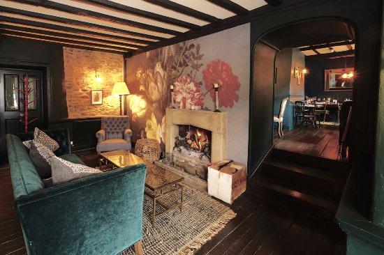 Fairford, UK: The lounge
