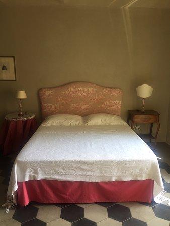 Говоне, Италия: The bed.
