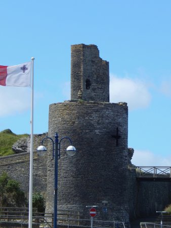 Aberystwyth, UK: The tower