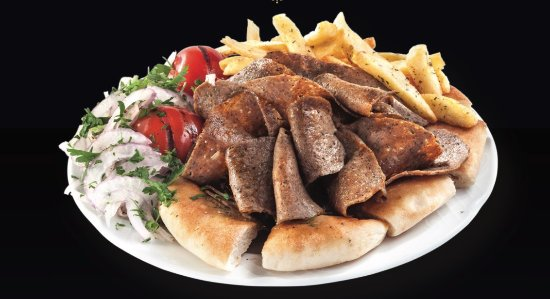 Nea Smirni, Greece: doner,the most fine sliced doner you have ever tasted till now