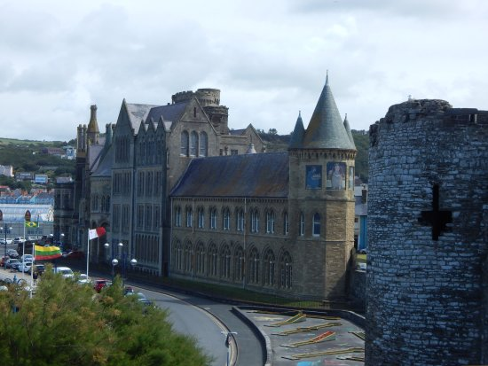 Aberystwyth, UK: The view from the castle