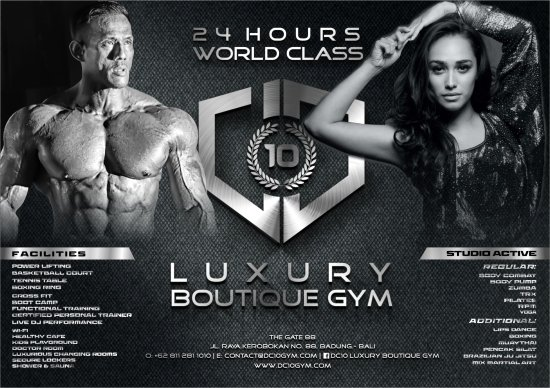 DC10 Luxury Boutique Gym