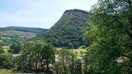Llangynog, UK: A view from a local walk