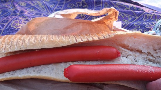 Saint-Michel-Chef-Chef, Francia: Aloha Snack à Tharon plage sur la commune de St Michel Chef-Chef  (44 ) voilà ce qu'ils appellen