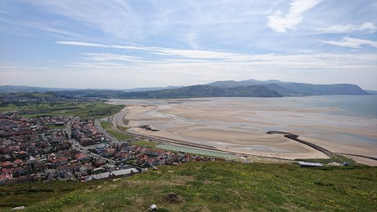 West Shore Beach : West Shore From Little Orme