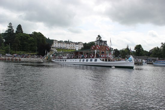Bowness-on-Windermere, UK: One of the options for travel