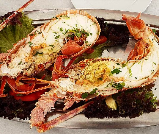 Piso Livadi, Greece: Grilled lobster!!