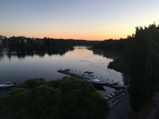 Haemeenlinna, Finlandia: Sunrise over Lake Vanajavesi
